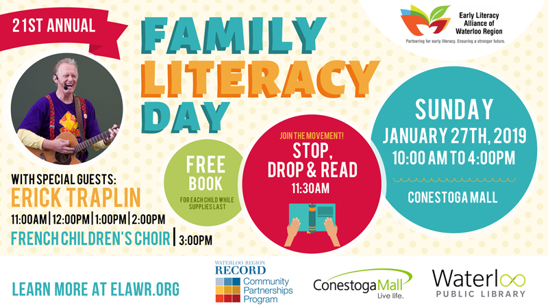 Family Literacy Day 2019 promo graphic