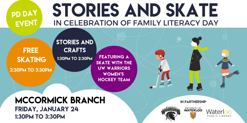 Stories and Skate program for families