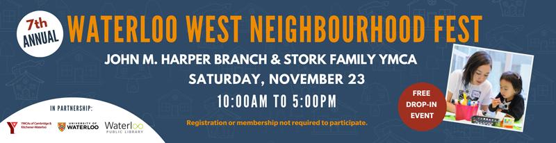 promo for waterloo-west-neighbourhood-fest-2019